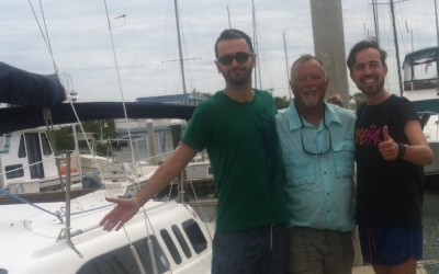 Our Newest Keel Boat Skippers