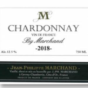 A Chardonnay VDF 2018 label