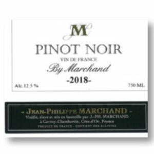 A Pinot Noir VDF label