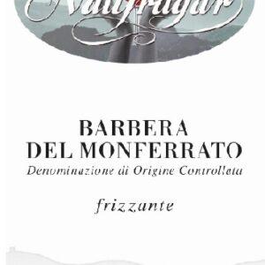 A Barbera Monferrato frizzante 2017 label