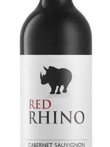 A Black Rhino Cabernet Sauvignon bottle