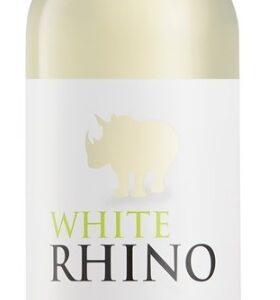 A White Rhino Chenin Blanc bottle