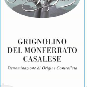 A Grignolino Monferrato Casalese 2017 label