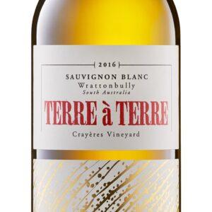 A Sauvingon Blanc Crayeres Vineyard bottle