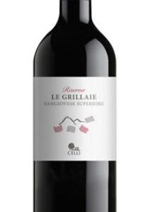 A Le Grillaie Riserva Romagna Sangiovese bottle