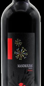 A Mandrolisai Rosso DOC 2016 bottle