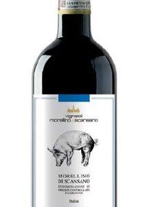 A Morellino di Scansano DOCG 2016 or Piggy bottle