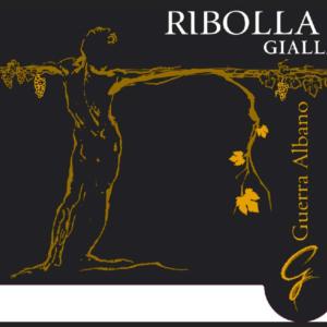 A Ribolla Gialla 2014 bottle