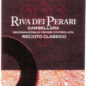 A Riva dei Perari-Gambellara Recioto classico DOC 2007 label