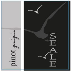 A Seale Pinot Grigio 2018 label