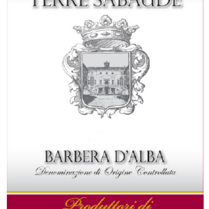 A Terre Sabaude-Barbera d'Asti DOC 2018 label