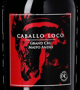 A Caballo Loco Grand Cry Maipo Cabernet Sauvignon bottle