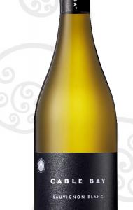 A Cable Bay Awatere Valley Sauvignon Blanc bottle