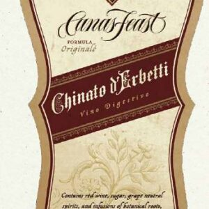 A Cana's Feast Chinato d'Erbetti Vermouth label