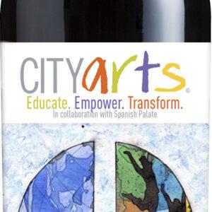 A City Arts Syrah Reserva bottle