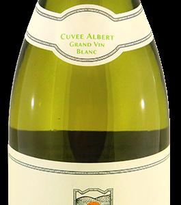A Cuvee Albert Grand White-KOSHER bottle