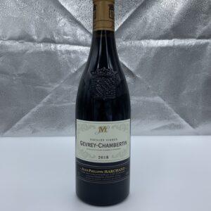 A Gevrey Chambertin bottle