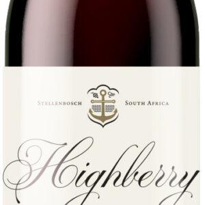 A Highberry Cabernet Sauvignon bottle