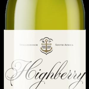 A Highberry Sauvignon Blanc bottle