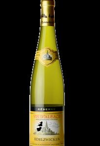 A Hunawihr Edelzwicker bottle