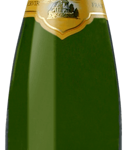 A Hunawihr Riesling bottle