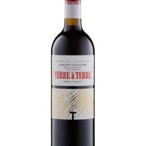Terre Terre Cabernet Sauvignon Crayeres Vineyard bottle