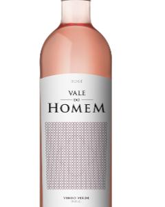 A Vale do Homem Vinho Verde Rose bottle