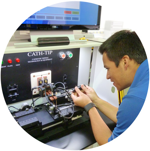 Technician for Catheter Tipping & Training