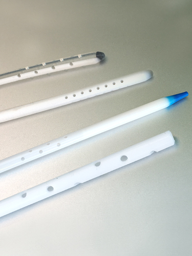 catheter hole punch drill examples