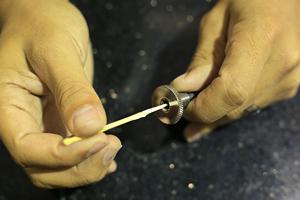 catheter die cleaning tutorial