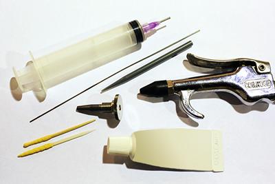 catheter die cleaning supplies