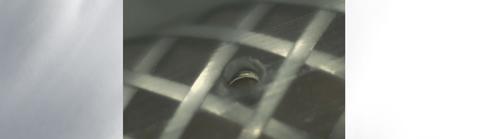 catheter holes in braided tubing