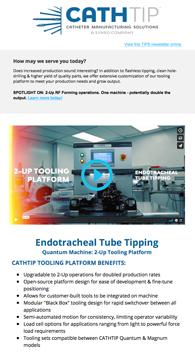 catheter tipping news