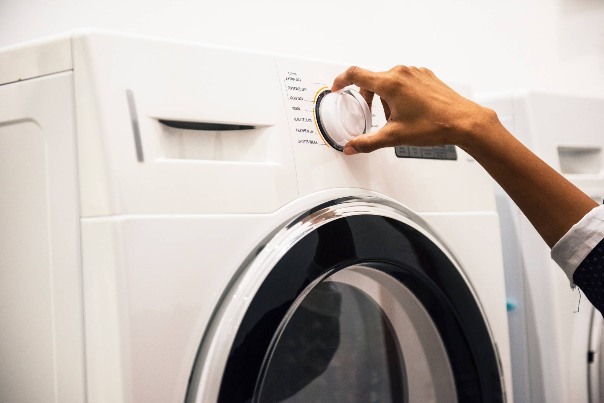 Choosing a Cycle Selection for Washing Clothes