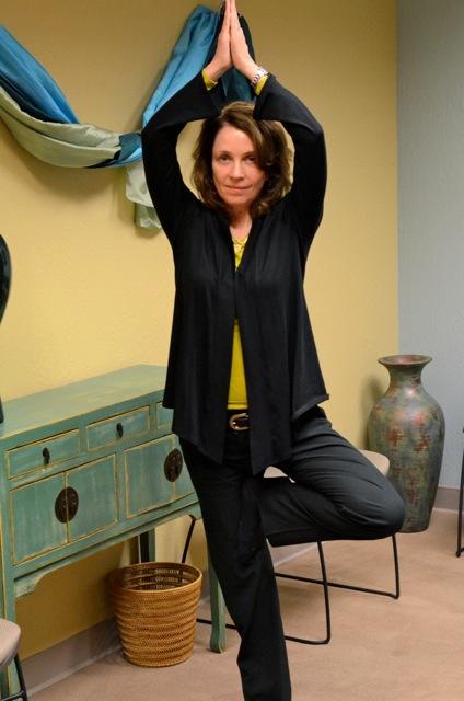 Dr. Susan O'Grady, RYT200 Yoga therapist and Psychologist