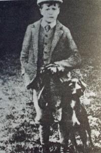 A very young William Humphrey (circa 1890's).