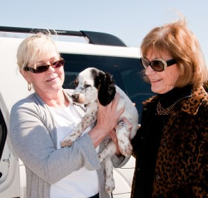 Pam, Bentley and Donna