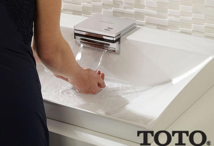 TOTO sinks and lavatories available in The Plumbing Place.