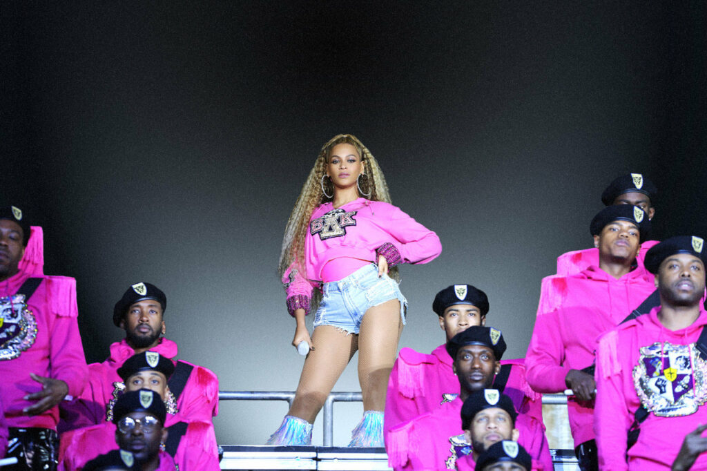 Beyonce Goes to College with Homecoming