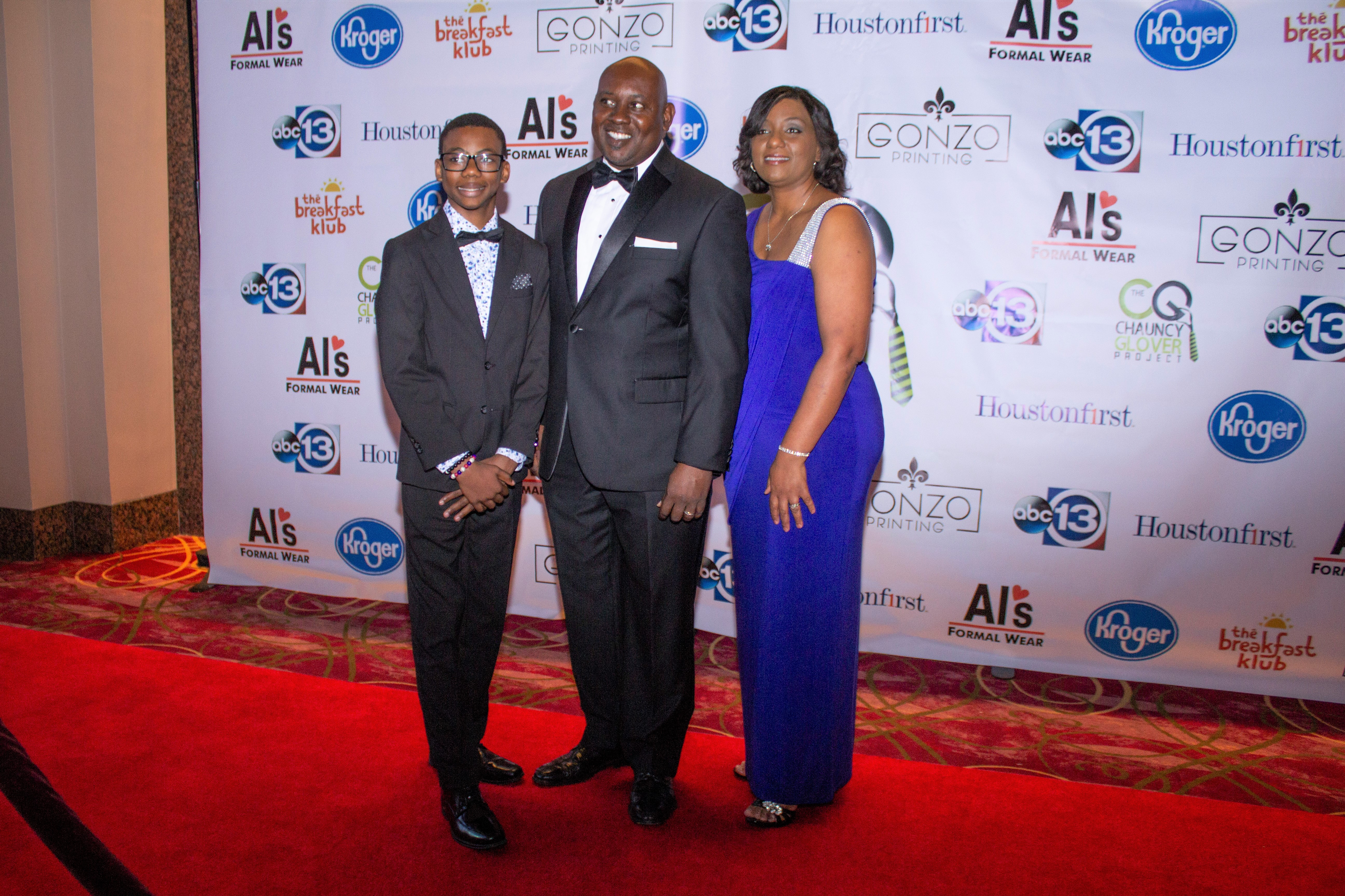 """The Chauncy Glover Project """"3rd Annual Black Tie Gala"""" Red Carpet"""