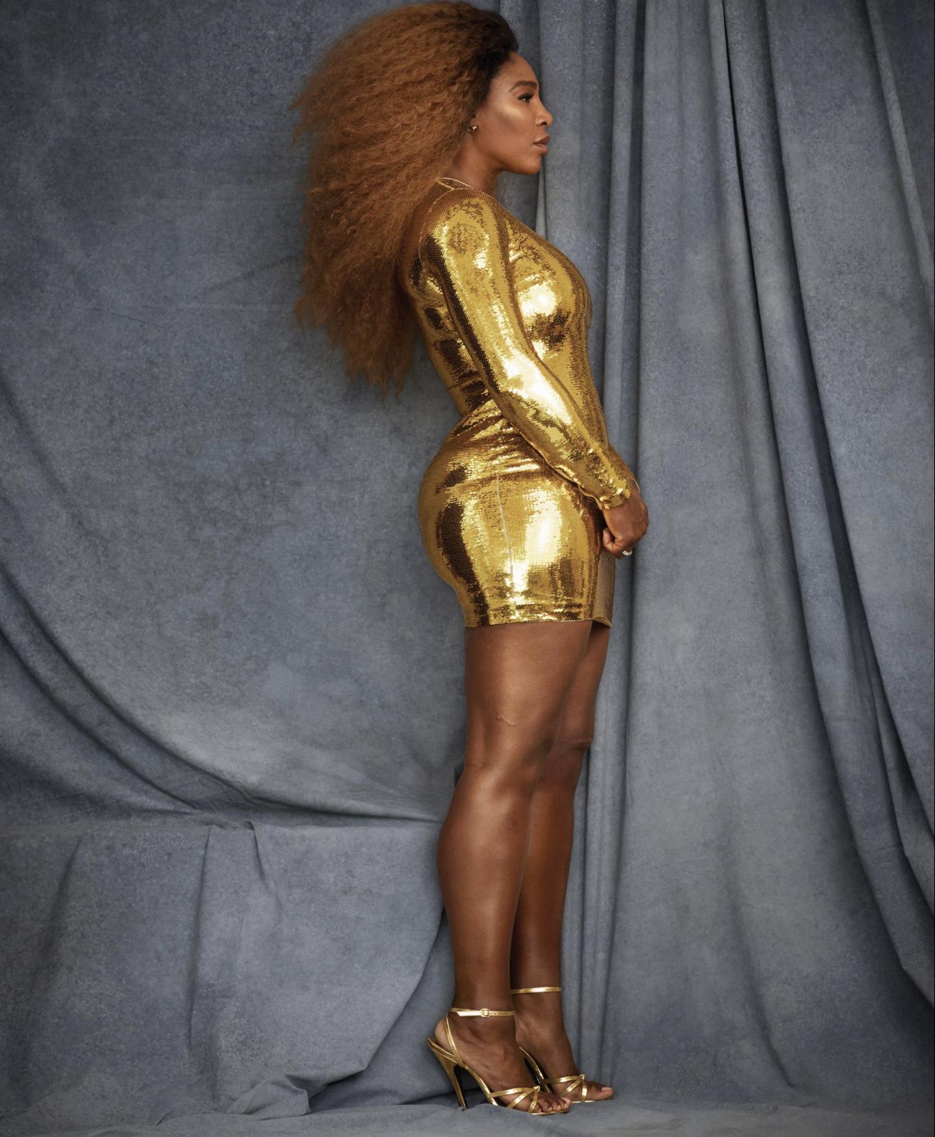 Serena Williams Cover