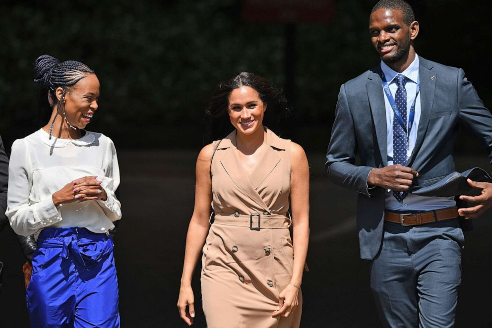Meghan Markle Visits South Africa to Speak on Behalf of Education