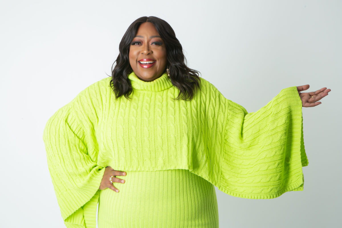Loni Love Introduces New Holiday Clothing Line Featuring Ashley Stewart