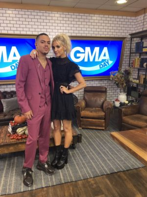 Ashlee and Evan Ross_GMA