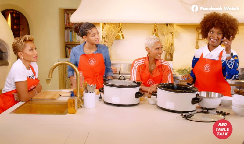 """""""Red Table Talk"""" First-Ever Holiday Cooking Show with Vegan Influencer Tabitha Brown"""
