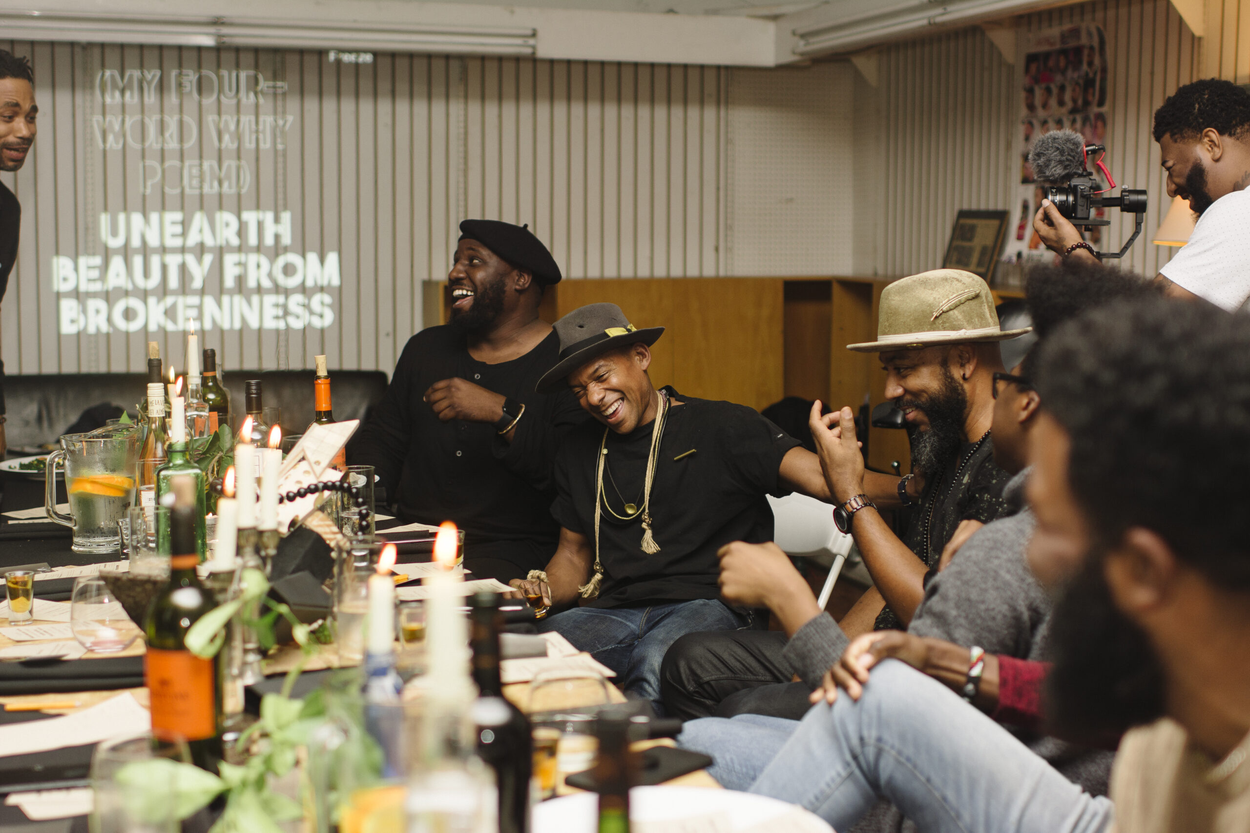 Houston Creatives partner with DiverseWorks to Honor the Lives of Black Men at Virtual Dinner