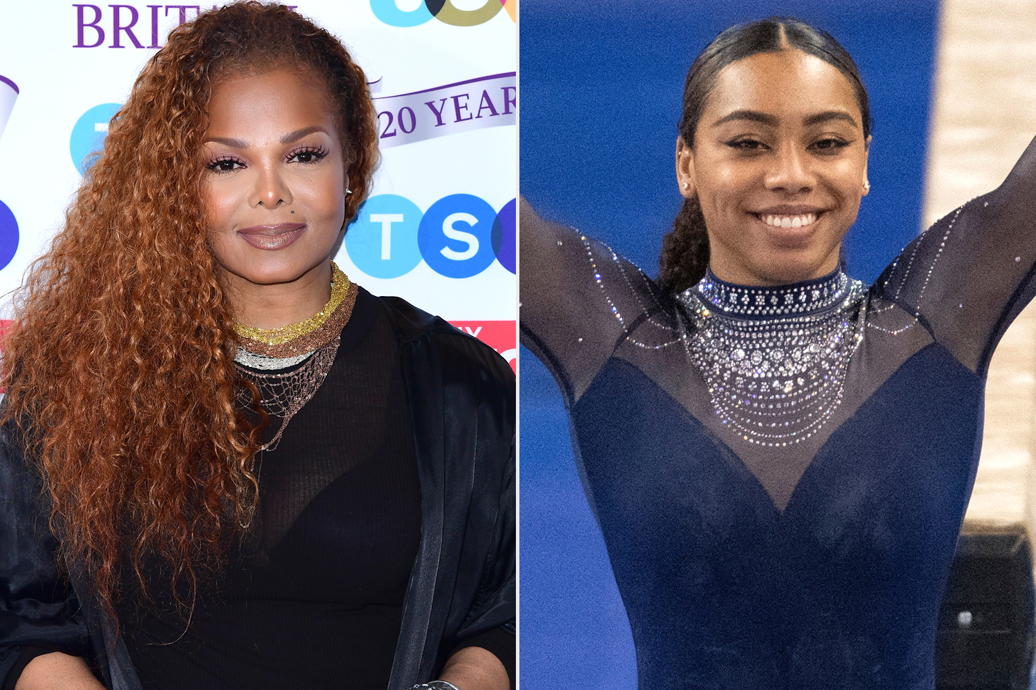 Janet Jackson Surprises College Gymnast With a Call After Her Performance