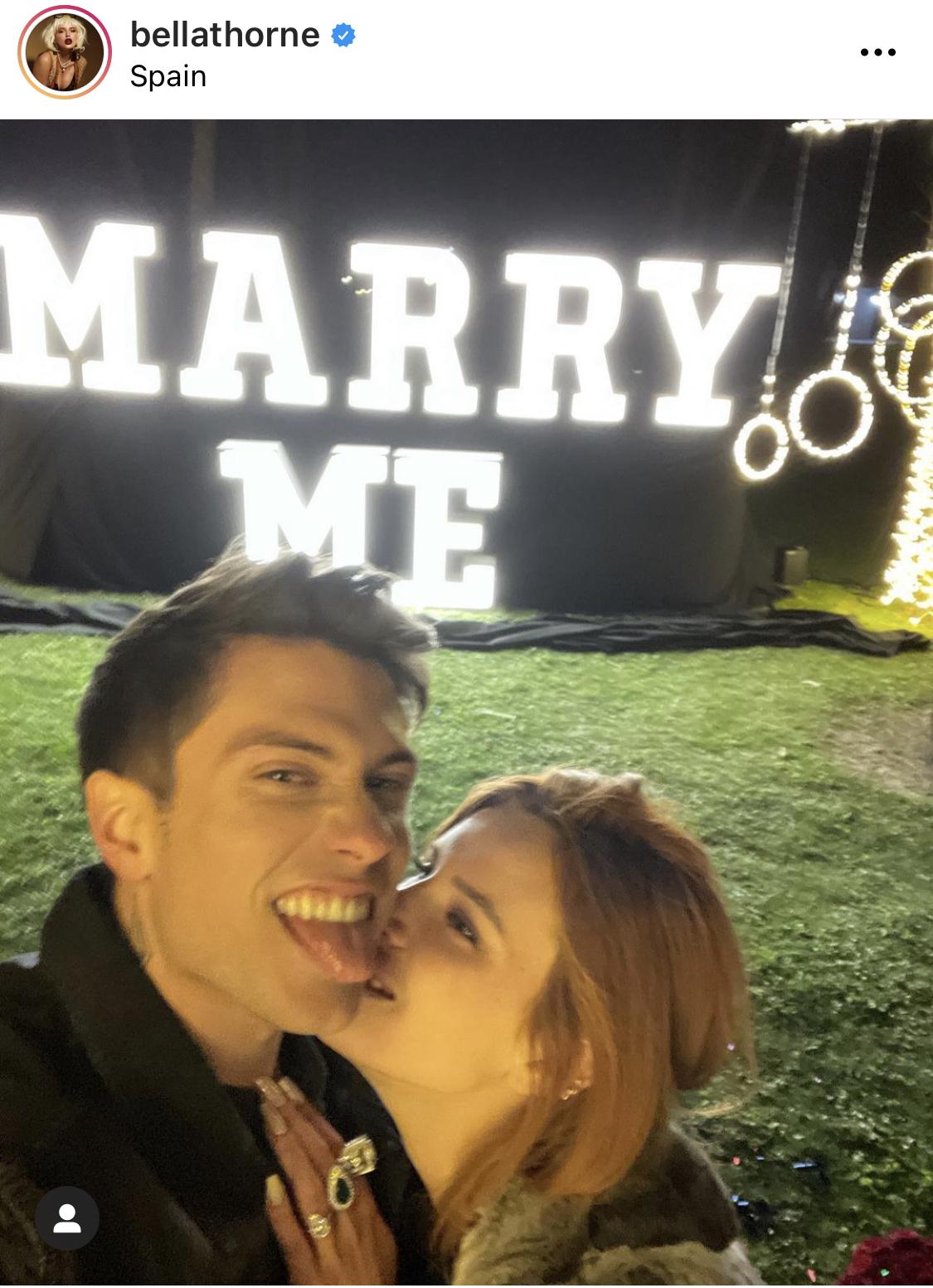 Former Disney Star Bella Thorne is Now Engaged