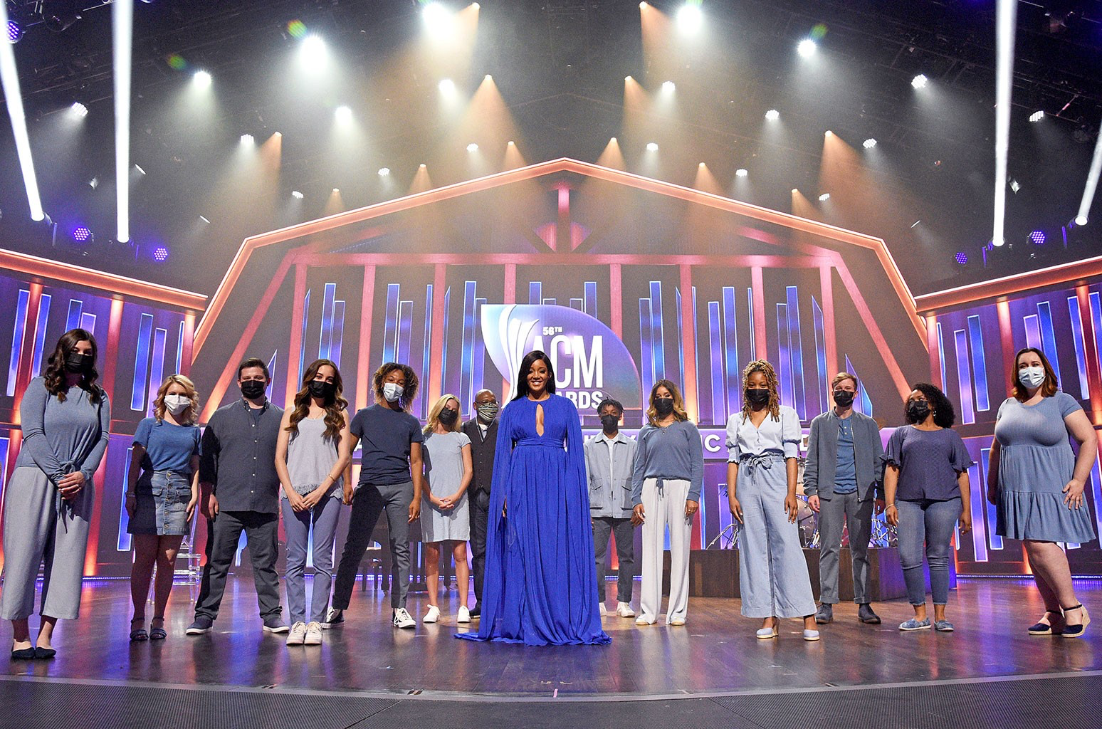Here's a Look Inside this Year's Academy of Country Music Awards