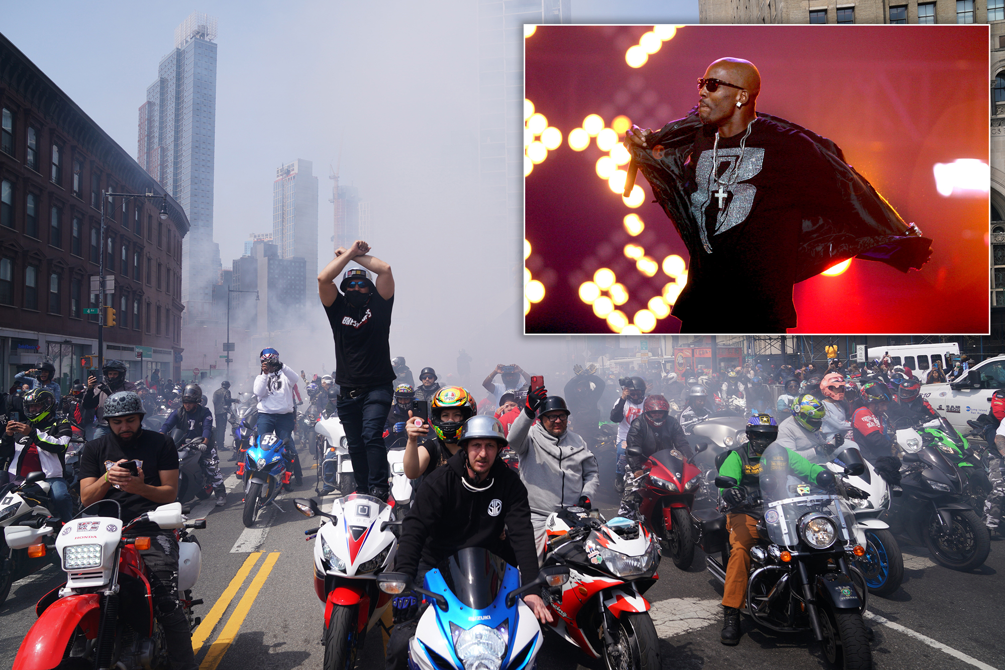 Kanye West Honors DMX at His Celebration of Life